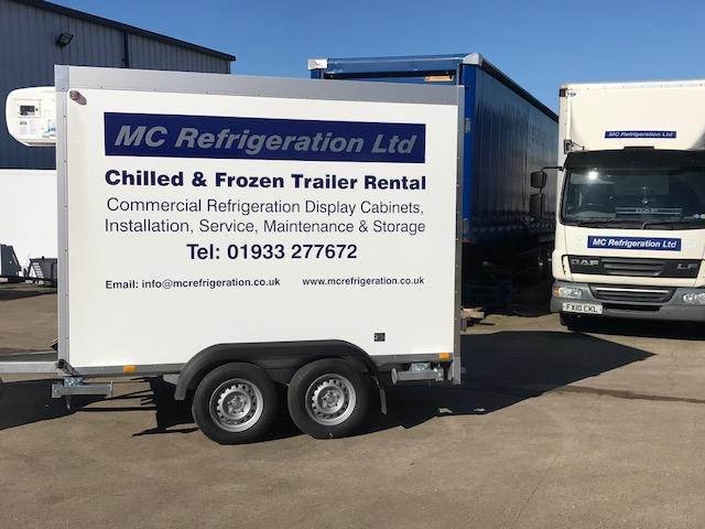 MC Refrigeration Ltd – Refrigerated Trailer Hire